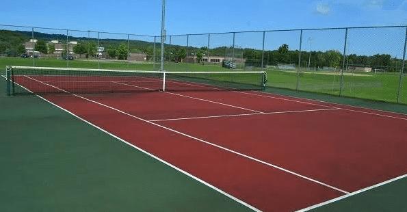 Tenis Ukuran Lapangan Tenis Beserta Gambarnya Penjelasan Lengkap Penjaskes Co Id