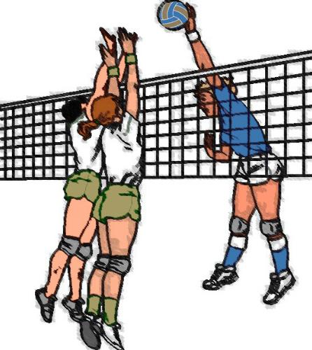 √ Bola Voli │ Pengertian Teknik Block Bola Voli BesertaMacam dan Jenisnya  Lengkap   Penjaskes.Co.Id
