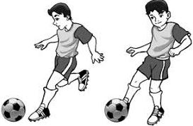Sepak Bola Teknik Dasar Menendang Bola Dalam Permainan Sepak Bola Penjaskes Co Id
