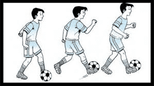 Sepak Bola 3 Teknik Menggiring Bola Dalam Sepak Bola Penjaskes Co Id