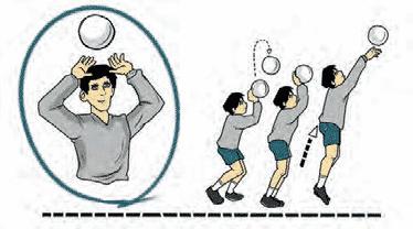 Kesalahan Ketika Melakukan Passing Atas Dalam Permaian Bola Voli Penjaskes Co Id